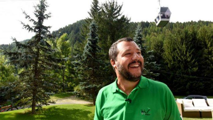 Matteo Salvini, uno dei due vincitori di queste elezioni 2018