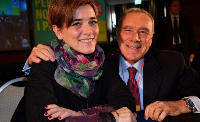 Rossella Muroni e Pietro Grasso