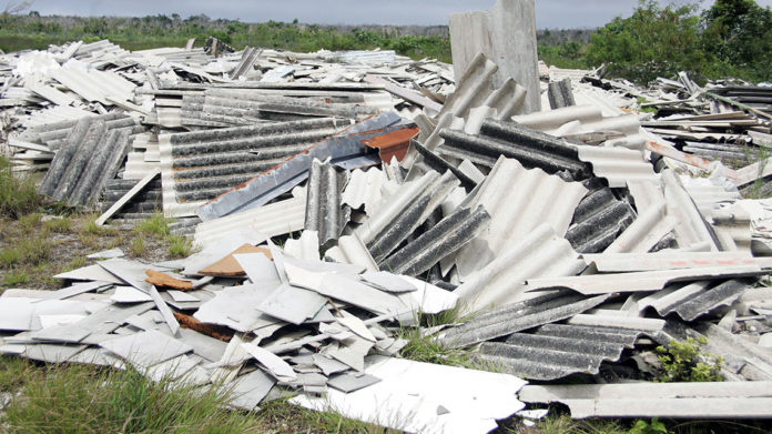 Amianto, in Italia sono presenti ancora 32 milioni di tonnellate da bonificare