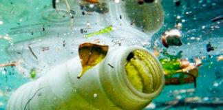 Inquinamento da plastica nei mari