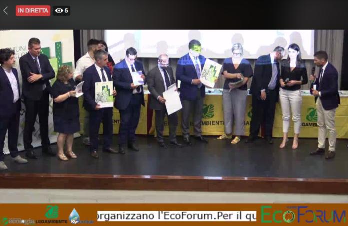 Premiazione dei Comuni Ricicloni a Ecoforum