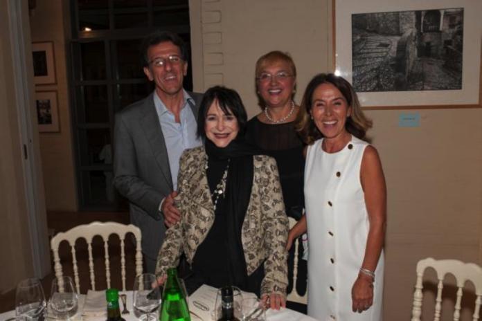 Casa Monini, festeggiamenti in famiglia