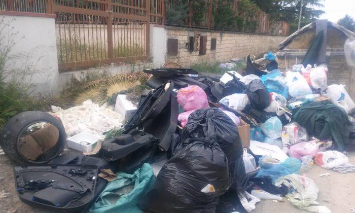 Emergenza rifiuti a Cerignola