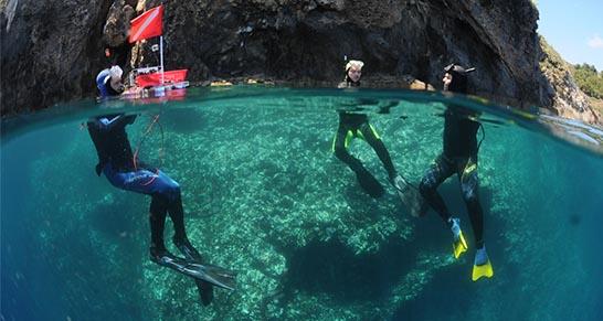 Indagine geomorfologica sull'isola di Ustica, Enea
