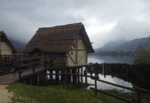 Palafitta a Revine lago, in Veneto