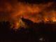 Il Monte Serra nella notte tra il 24 e il 25 settembre