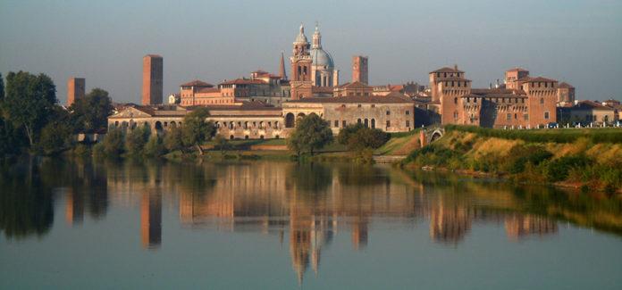 Una veduta di Mantova