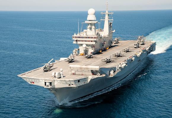 Un mezzo della Marina Militare Italiana