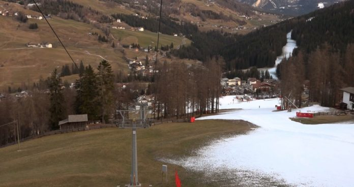 Alpi senza neve