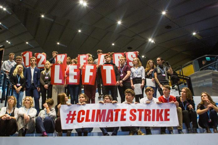 #ClimateStrike alla COP 24