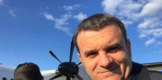 Il Ministro Centinaio in volo per il Lussemburgo