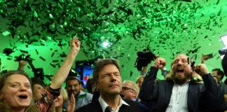 Un immagine dei festeggiamenti in Germania