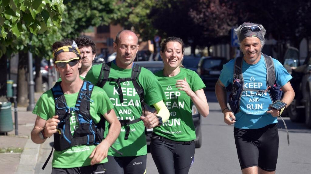 """""""Keep clean and run"""", al via l'ecomaratona dal Monviso al Delta del Po"""