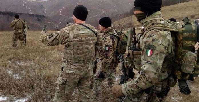 Militari dell'Esercito Italiano in Kosovo