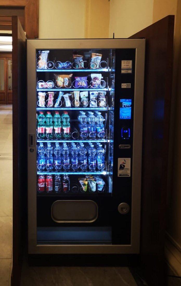 Distributori automatici alla Camera
