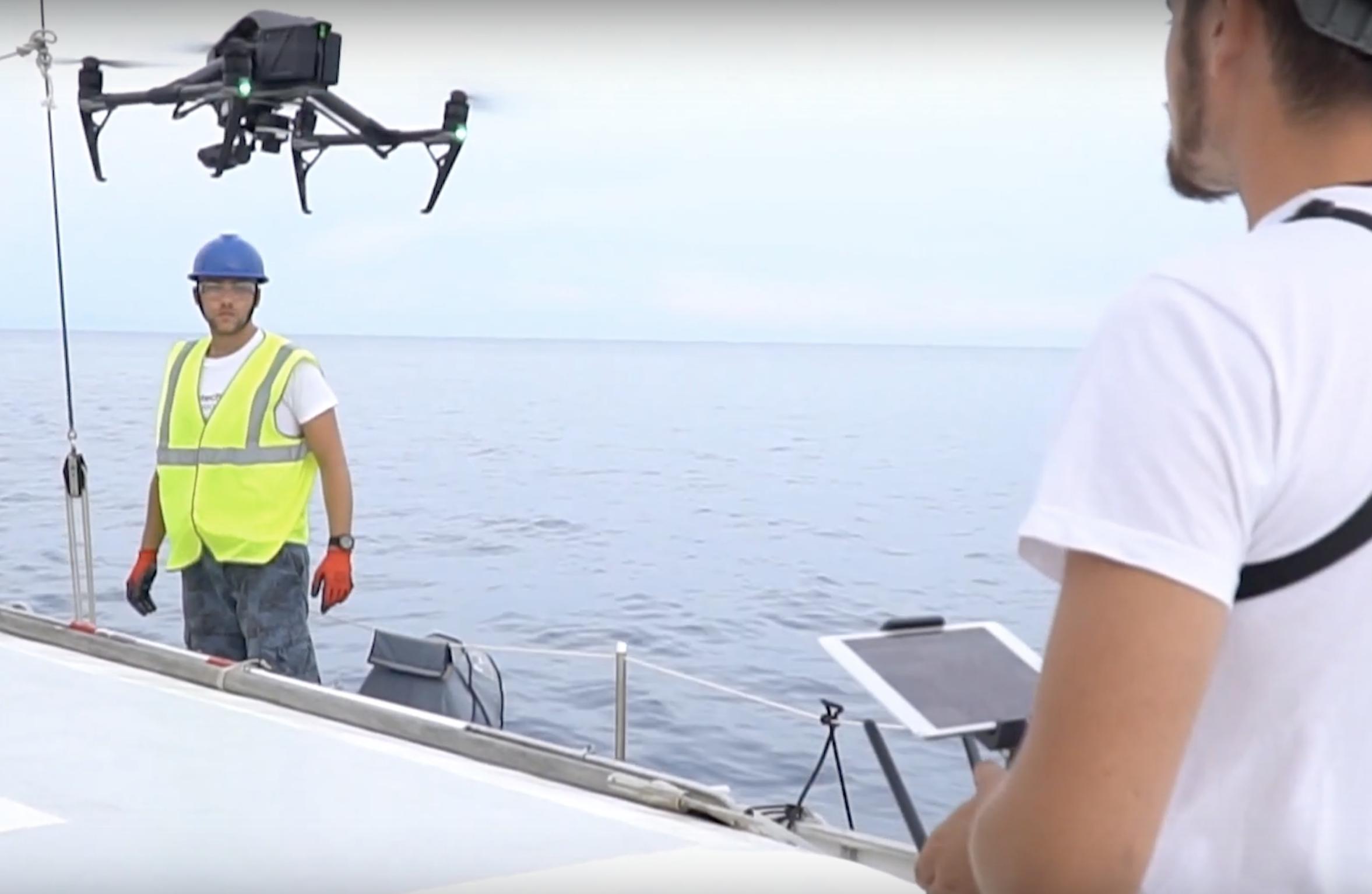 """Il drone di """"Litter Hunter"""""""
