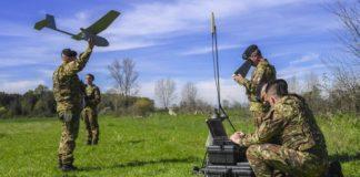 Droni in azione per la Terra dei Fuochi