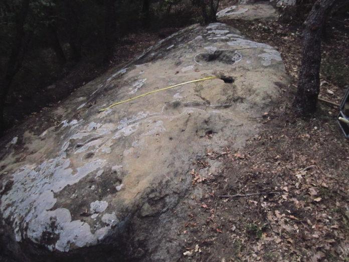 La roccia del Monte Lulseto