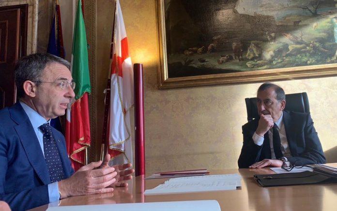 L'incontro tra il Ministro Costa e il Sindaco di Milano Giuseppe Sala