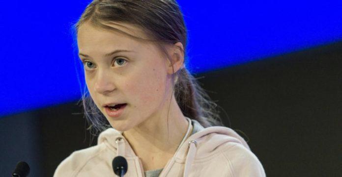 Greta Thunberg al World Economic Forum di Davos