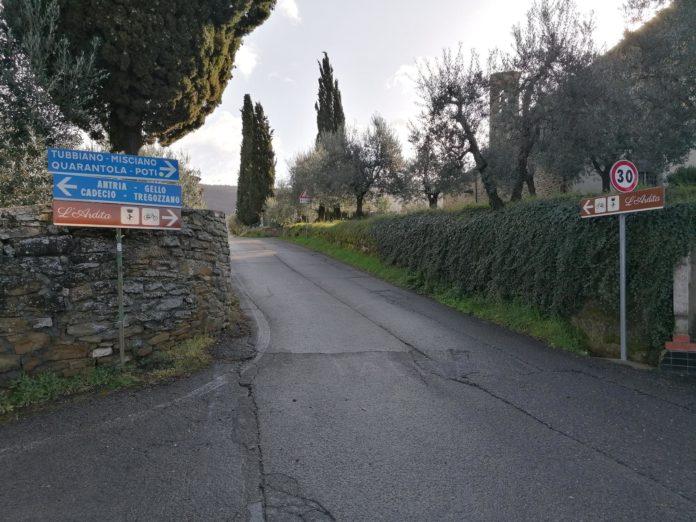 L'Ardita, in provincia di Arezzo